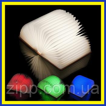 """Світильник Книга Night Magic Shine  Книга-нічник  Світильник розкрита книга  3D світильник нічник """"Книга"""""""
