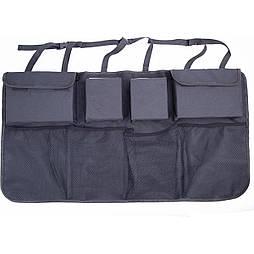 Автомобильная сумка органайзер для хранения Черная