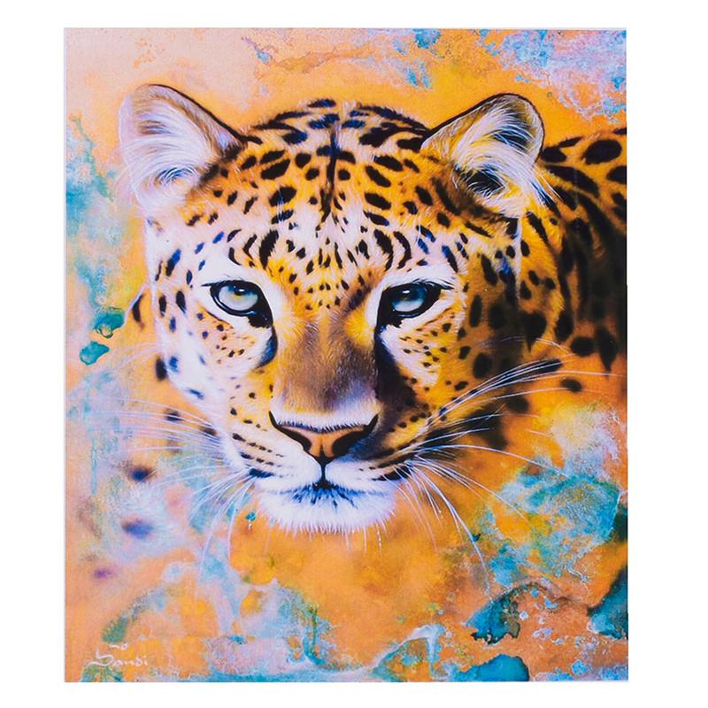 """Картина по номерам """"Леопард"""" KTL 2101, 30-40 см"""
