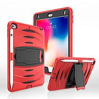 Чехол Heavy Duty Case для Apple iPad Mini 4 / 5 Red