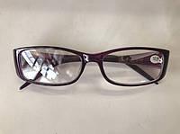 Классические женские очки Модель 2016 фиолетовые, фото 1