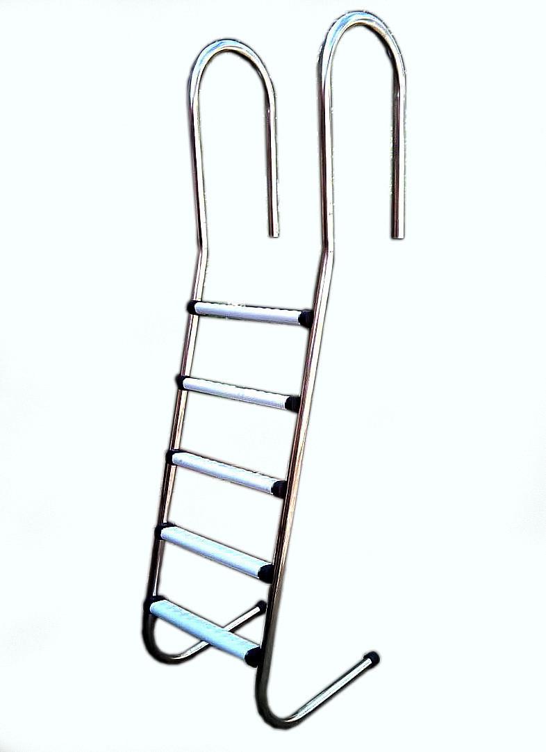 Лестница для бассейна и купели КОМФОРТ 5 ступенек.