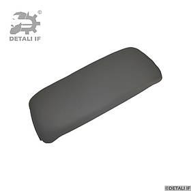 Кришка підлокітника Audi A4 B6 сірий еко шкіра петлі 0.8 mm