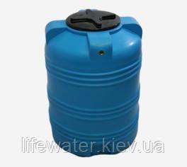 Емкость V-300, пищевая пластиковая бочка, бак для воды