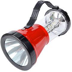 Кемпінговий ліхтар з сонячною панеллю (16+1 LED, 220 люмен, 2 режими)