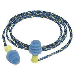 Силіконові беруші Mack's Ear Seals (захист від води і шуму до 27дБ), з шнуром