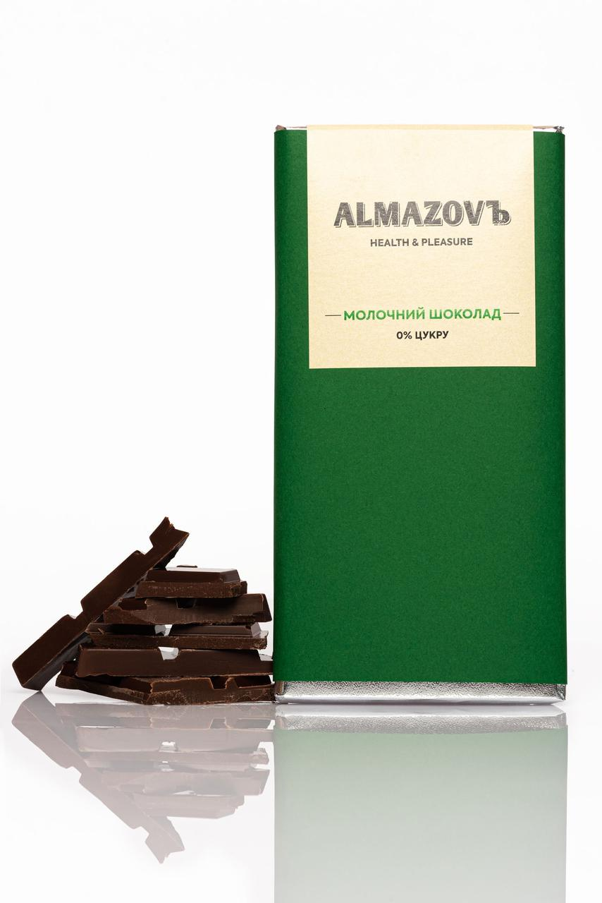 Молочний шоколад ТМ Almazovъ