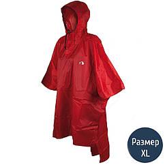 Дождевик-пончо Tatonka Poncho (р.XL-XXL), красный 2801.015