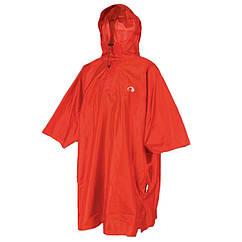 Дождевик-пончо детский с отделением для рюкзака Tatonka Cape Kids, красный 2793.015