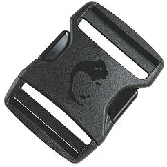 Застежка-фастекс для ремней Tatonka SR-Buckle Dual (50x72мм), черная 3380.040