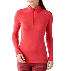 Термокофта женская Smartwool NTS (250 г/м2, S), красная