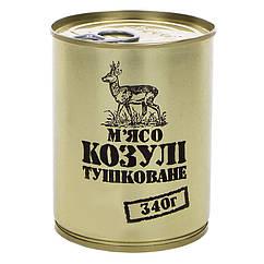 Тушонка з косулі, консерви (340г), ж/б