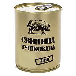 Тушонка з свинини, консерви (340г), ж/б