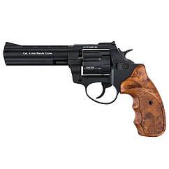 "Револьвер під патрон Флобера Stalker S (4.5"", 4.0 mm), ворон-коричневий"
