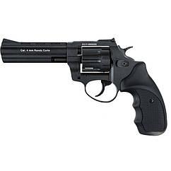"""Револьвер під патрон Флобера Stalker S (4.5"""", 4.0 mm), ворон-чорний"""