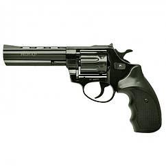 """Револьвер під патрон флобера PROFI (4,5"""", 4.0 мм), ворон-пластик"""