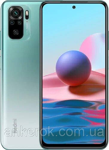 Смартфон Xiaomi Redmi Note 10 4/64GB Global (Lake Green)