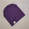 Демисезонная трикотажная шапка Варе   Цвет Светло-фиолетовый