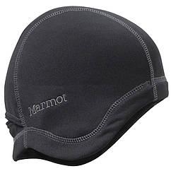Шапка жіноча MARMOT wm's power stretch linet hat, чорна