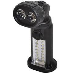2 в 1 - Кемпінговий, аварійний ліхтар (14+2 LED, 2 режими, 4xAAA)