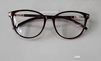 Стильные коричневые очки в утонченной оправе Модель 2205, фото 1