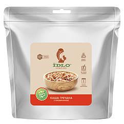 Каша гречана з телятиною IDLO швидкого приготування (100г)