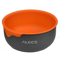 Термомиска Alocs TW-405 (0.4), помаранчева