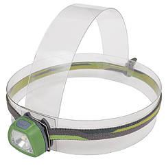 Фонарь налобный Rayfall HP1R (SMD 3535 LED + 2xRed LED, 35 Lumen, 5 режимов, 2xCR2032), зеленый