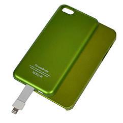Внешнее зарядное устройство Power Bank DOCA T5 для iPhone 5/5s (2800mAh), зелёный