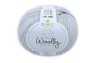 DMC WOOLLY, Серо-голубой №121