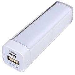 Внешнее зарядное устройство Power Bank DOCA D-Lipstick HT-2600 (2600mAh), белый