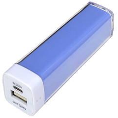 Внешнее зарядное устройство Power Bank DOCA D-Lipstick HT-2600 (2600mAh), синий