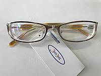 Женские очки с линзами антиблик Модель 8124 желтые, фото 1