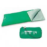 Теплый спальный мешок туристический для рыбалки и кемпинга в палатку Bestway 180*75 см спальники одеяло 68053, фото 2