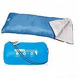 Теплый спальный мешок туристический для рыбалки и кемпинга в палатку Bestway 180*75 см спальники одеяло 68053, фото 3