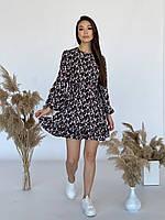 Легка сукня з шифону ЛЧ 029D/01, фото 1