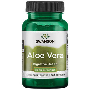 Aloe Vera 200:1 концентрат 25 мг 100 ЖК