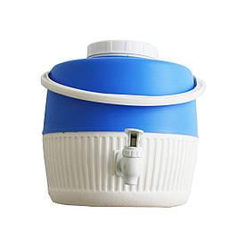Термос диспенсер для розливу напоїв 5 л синій Kale Mazhura MZ-1003-BLUE