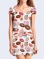 Платье Пончики и торты