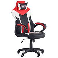 Крісло VR Racer Dexter Hook чорний/червоний, TM AMF