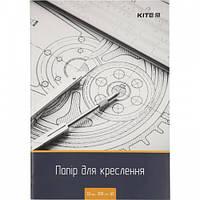 Бумага для черчения А3 10 л. пл. 200г. м2 Kite K18-270