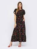Довга сукня в квітковому принте ЛІТО, фото 2