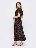 Длинное платье в цветочном принте ЛЕТО, фото 3