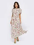Довга сукня в квітковому принте ЛІТО, фото 5