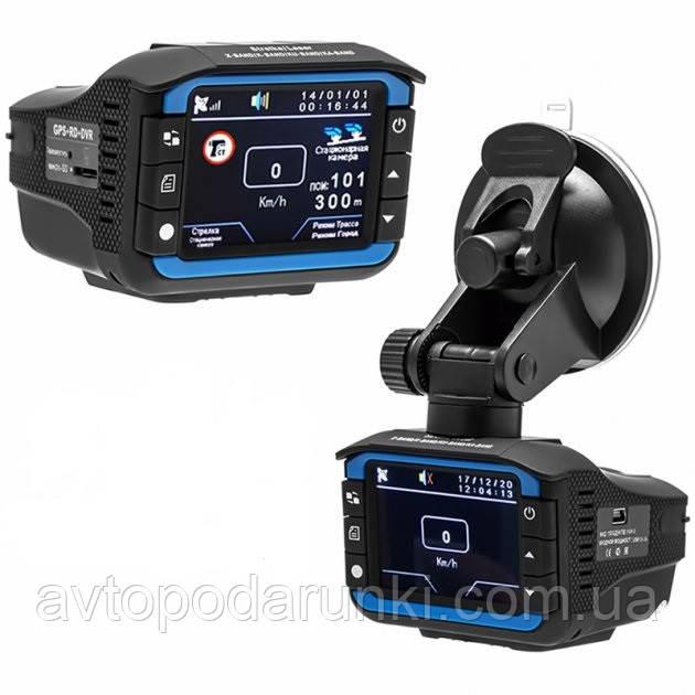 Видеорегистратор - радар детектор VG-3 Full  HD (2в1), все диапазоны, автомобильный видеорегистратор (русский
