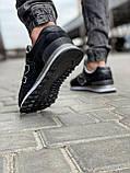 Кросівки чоловічі 18029, New Balance 574, чорні, [ 41 42 43 44 45 46 ] р. 41-26,5 див., фото 5