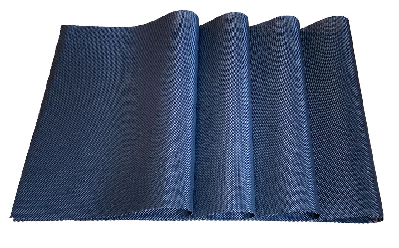 Набір сервірувальних килимків під тарілки, підставки під гаряче Набір 4шт 30*45 см Чорний