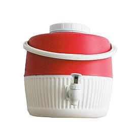Термос диспенсер для разлива напитков 5 л красный Kale Mazhura MZ-1003-RED