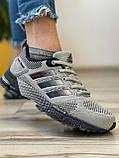 Кросівки жіночі 18571, Adidas Marathon Tr 26, сірі, [ 37 38 39 40 41 ] р. 37-24,0 див., фото 5
