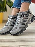 Кросівки жіночі 18571, Adidas Marathon Tr 26, сірі, [ 37 38 39 40 41 ] р. 37-24,0 див., фото 8